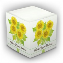 Personalized Self Stick Memo Cubes - Style 18