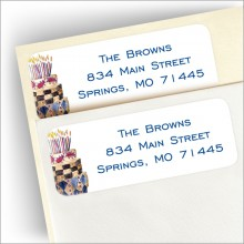 Royal Cake Return Address Label