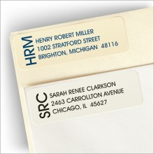 Side Initial Address Labels