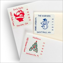 Square Holiday Address Labels