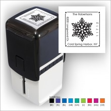 Square Stamper w/Black Ink & 1 Color Refill - Format 3