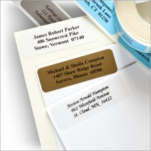 Traditional Address Labels