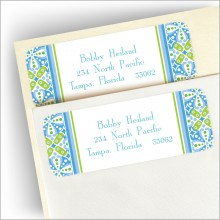 Wall Flowers Address Labels