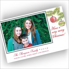Woodland Pines Photo Card