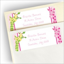 A Girl's View Address Labels