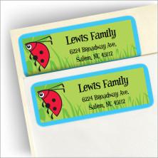 Bugs Galore Address Labels