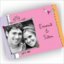 Love Frame Fold Note