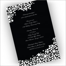 Midnight Silhouette Invitations