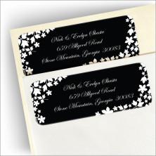 Midnight Silhouette Return Address Labels