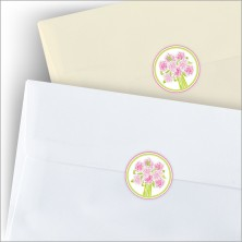 Pretty Peonies Stickers