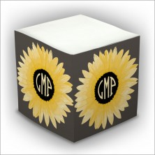Personalized Self Stick Memo Cubes - Style 40
