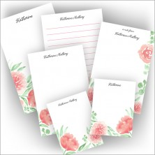 Watercolor Floral Pad Set