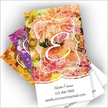 Blossoming With Color Cards