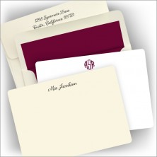 Rounded Hampton Correspondence Cards