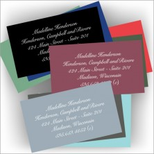Colorful Business Cards Design 1