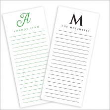 Initial List Pads