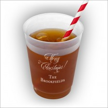 Merry Christmas Frost Flex Cup