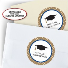 Bookplate Grad Stickers