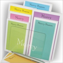Spring Fling Memo Pads & Holder