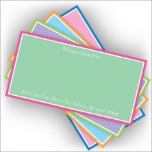 Colorful Slender Card Assortment