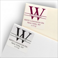 Coventry Square Labels - Design 2