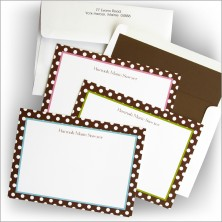 Delightful Dot Cards - Lined Envelopes Included!