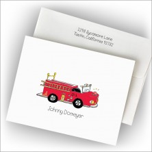 Fire Engine Fold Notes