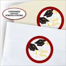 Grad Flair Stickers