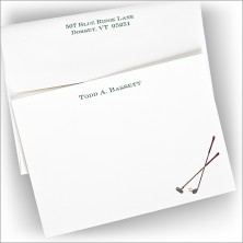 Hole-In-One Correspondence Cards