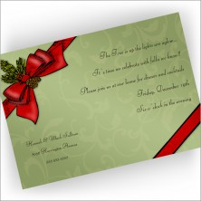 Holiday Package Invitations