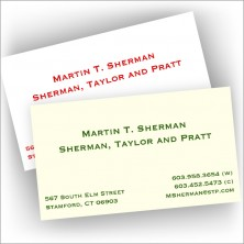 Letterpress Business Cards - Business