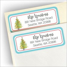 Lively Tree Return Address Label