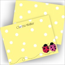 Love Bugs Correspondence Cards