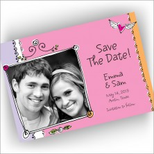 Love Frame Save The Date Cards