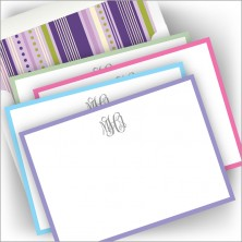 Madison DYO Cards - with monogram