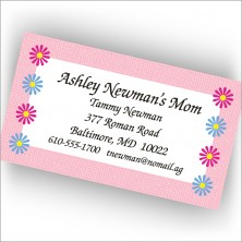 Mom's Calling Cards Daisy
