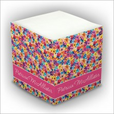 Personalized Self Stick Memo Cubes - Style 2