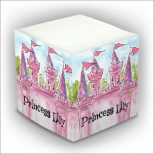 Personalized Self Stick Memo Cubes - Style 25