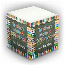 Personalized Self Stick Memo Cubes - Style 32
