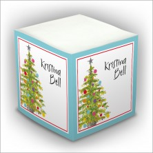 Personalized Self Stick Memo Cubes - Style 33