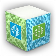Personalized Self Stick Memo Cubes - Style 5
