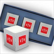 Personalized Self Stick Mini Memo Cubes - Style 01