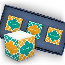 Personalized Self Stick Mini Memo Cubes - Style 05