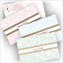 Pretty Vines Note and Label Set - Name Note