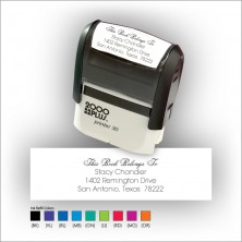 Quick Stamp w/Black Ink & 1 Color Refill - Format 2