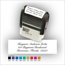 Quick Stamp w/Black Ink & 1 Color Refill - Format 5