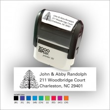 Quick Stamp w/Black Ink & 1 Color Refill - Format 8