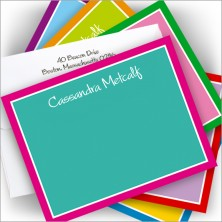 Rhapsody of Color Correspondence Cards