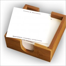 Square Memos in Holder