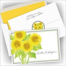 Sunflower Notes and Seals